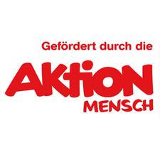 rote weißes Logo von Aktion Mensch